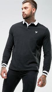 Rugby Shirt In Black