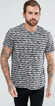 Shirt In Grey Stripes