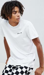t shirt with slogan print  white