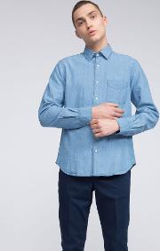 Chambray Cotton Shirt Sedici