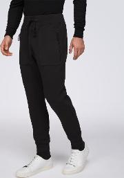 Laser Cut Taped Seams Jersey Trousers
