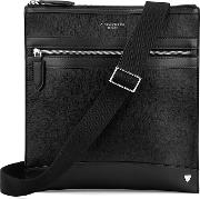 Anderson Small Messenger Bag In Black