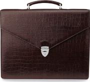 Aspinal Of London Executive Laptop Briefcase