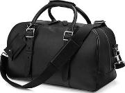 Brown Leather Small Harrison Weekender Travel Bag