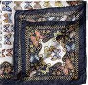 Caudwell Children Butterflies Silk Pocket Square