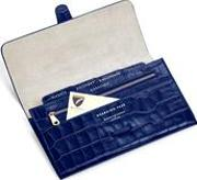 Classic Travel Wallet In Navy