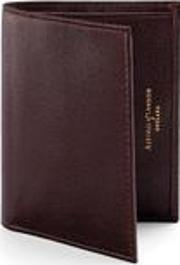 Double Credit Card Case Pocket Brown