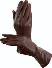 Ladies Comfortable Cashmere Lined Leather Gloves