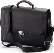 Mens Handmade Leather Laptop Briefcase