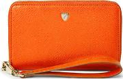 Midi Continental Wallet With Wrist Strap