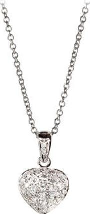 Mon Chere 0.6ct. Diamond Heart Pendant Necklace
