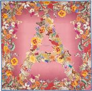 Ombre 'a' Floral Silk Scarf