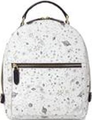 Small Mount Street Backpack Ivory