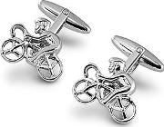 Sterling Silver Cyclist