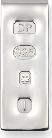 Sterling Silver Feature Hallmark Money Clip