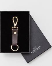 Chapman Leather Keyring Brown Men Boden