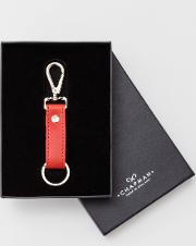 Chapman Leather Keyring Red Men Boden
