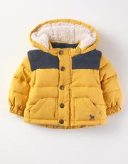 Two In One Cosy Jacket Fisherman Yellow