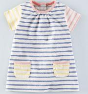 Colour Pop Jersey Dress Hotchpotch Stripe  Boden