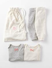 Cosy Pointelle Twin Pack Stripe Pack  Boden