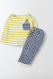 Fun Pocket Play Set Cantelope Stripe/seal  Boden