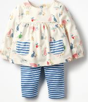 Printed Jersey Play Set    Boden