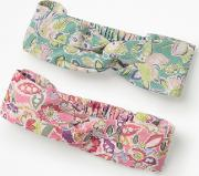 2 Pack Headbands Pink Girls
