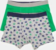 2 Pack Jersey Boxers