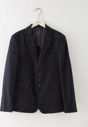 Bermondsey Blazer Navy Herringbone Men