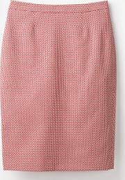 Canonbury Pencil Skirt Red Women