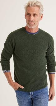 Cashmere Crew Neck Men