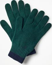 Cashmere Gloves Navy Men