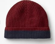 Cashmere Hat Red Men