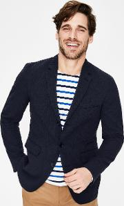 Cleadon Seersucker Blazer Navy Men