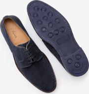 Corby Derby Shoes Navy Men
