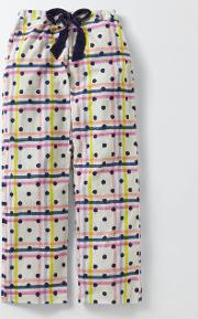 Cosy Woven Pull Ons Multi Check Women Boden