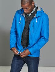 Dulwich Waxed Jacket Blue Men