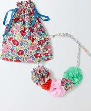 Fabric Necklace Corsage Girls