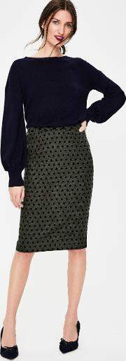 Freya Pencil Skirt Green Women