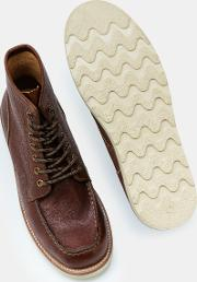 Leather Chukka Boots Brown Men