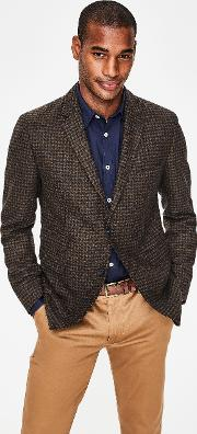 Malham Tweed Blazer Brown Men