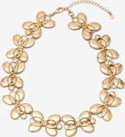 Oval Necklace Gold Women
