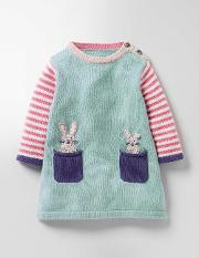 Pet Pocket Knitted Dress