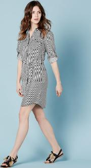 Popover Shirt Dress