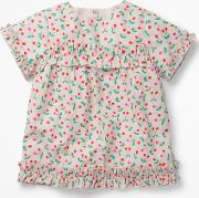 Pretty Ruffle Detail Top Pink Girls