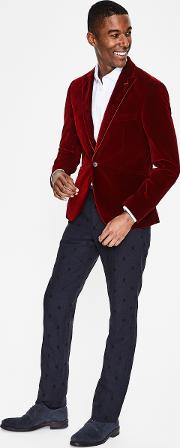 Rivington Velvet Jacket Red Men