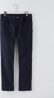 Slim Leg Stretch Jean Navy Men