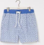 Summer Swimshorts Blues Geo Men