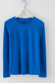 Supersoft Crew Tee Prussian Blue Women