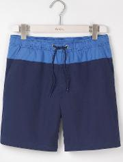Swimshorts Navy Colourblock Men